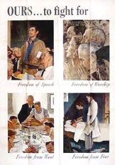 Four Freedoms Poster