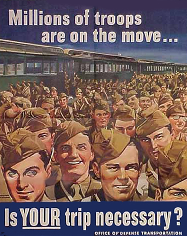 Millions of Troops are on the Move -- Is Your Trip Necessary?