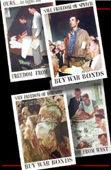Four Freedoms Poster Suite