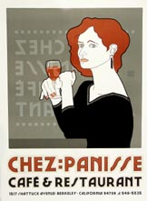 Chez Panisse Café: Red Haired Lady