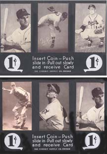 Baseball Penny Arcade Cards  (Set of Two)