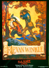 N.C. Wyeth and Friends exhibit poster